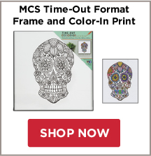 MCS Time-Out Format Frame and Color-In Print