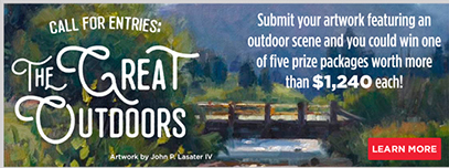 The Great Outdoors Art Challenge