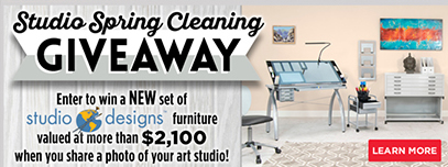 Studio Spring Cleaning Giveaway