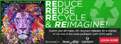 Recycled Art Challenge