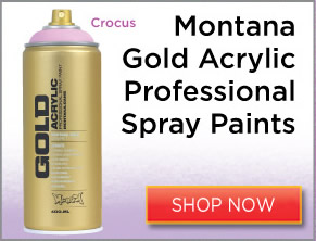 Montana Gold Acrylic Professional Spray Paints