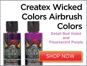 Createx Wicked Colors Airbrush Colors