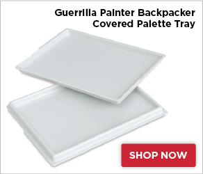 Guerrilla Painter Backpacker Covered Palette Tray