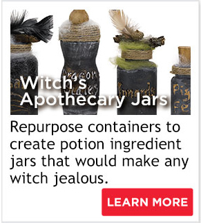 Witch's Apothecary Jars