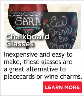 Chalkboard Glasses