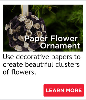Paper Flower Ornament