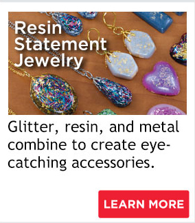 Resin Statement Jewelry