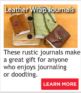 Leather Wrap Journals