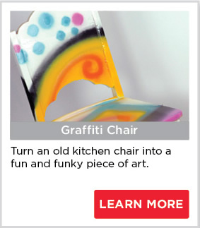 Graffiti Chair