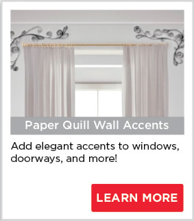 Paper Quill Wall Accents