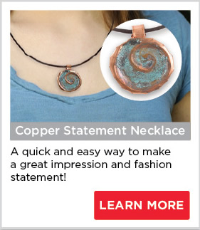 Copper Statement Necklace