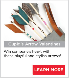 Cupid's Arrow Valentines