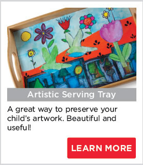 Artistic Serving Tray