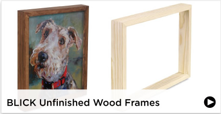 Blick Unfinished Wood Frames