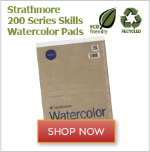 Strathmore 200 Series Skills Watercolor Pads
