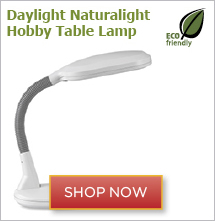 Daylight Naturalight Hobby Table Lamp