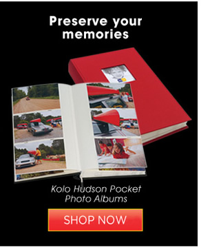 Kolo Hudson Pocket Photo Albums