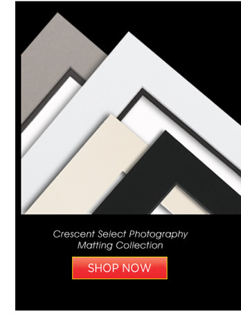 Crescent Select Photography Matting Collection