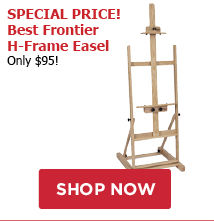 Special Price! Best Frontier H Frame Easel - only $95!