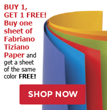 Buy any Fabriano Tiziano Pastel or Charcoal Paper and Get one free!