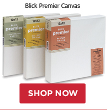 Buy 25 worth of Blick Premier Canvas, get 1 Utrecht Artists Oil Paint sampler free