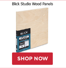 Buy 25 worth of Blick Premier Wood Panels, get 1 Utrecht Artists Acrylic Paint sampler free.