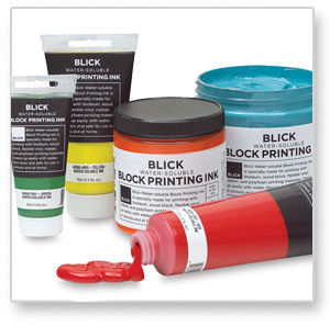 Blick Water-Soluable Block Printing Inks