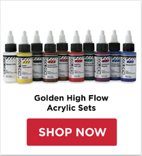 Golden High Flow Acrylics Sets