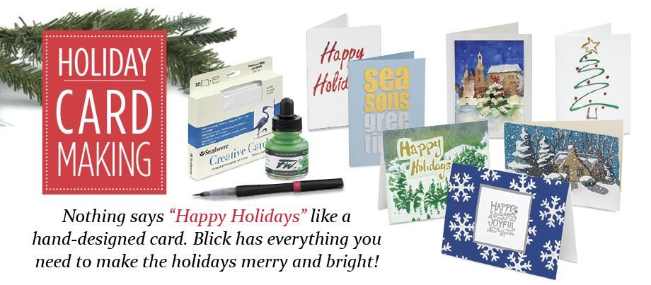 Holiday Card Supplies From Blick Art Materials