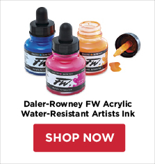 Daler-Rowney FW Acrylic Water-Resistant Artists Ink