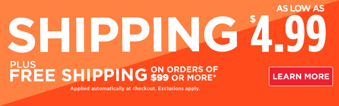 FREE SHIPPING on orders over $99! Click here for details...