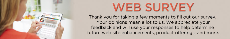 Dick Blick Web Survey