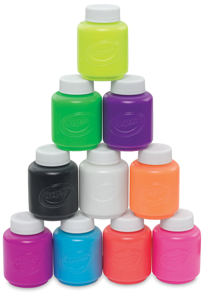 Set of 10 Neon Colors