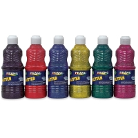 Glitter Set of 6, 16 oz Bottles