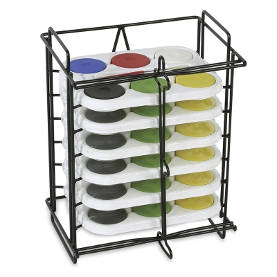 Small Tempera Rack with 6 Sets