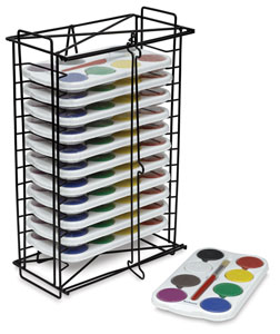 Tempera Paints with Rack