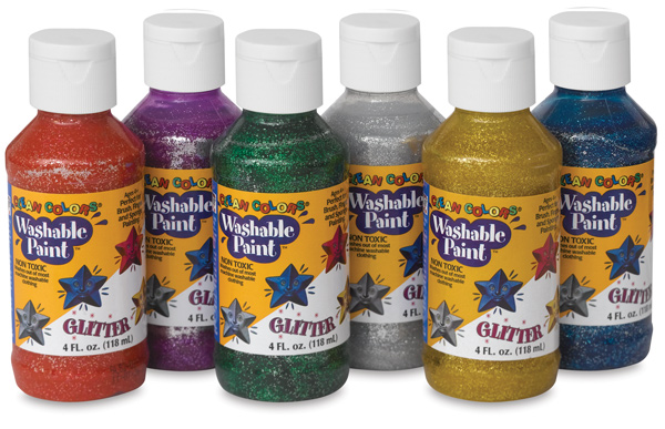 Glitter Colors, Set of 6