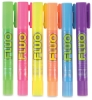 Fluorescent, Set of 6, Pocket