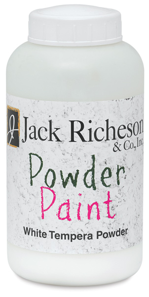 Powdered Tempera Paint, White