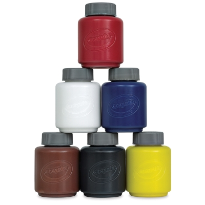 Tempera Paint, Set of 6