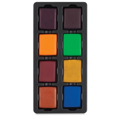 8-Color Secondary Set with Tray