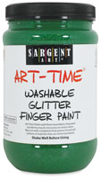 Sargent Washable Glitter Finger Paint