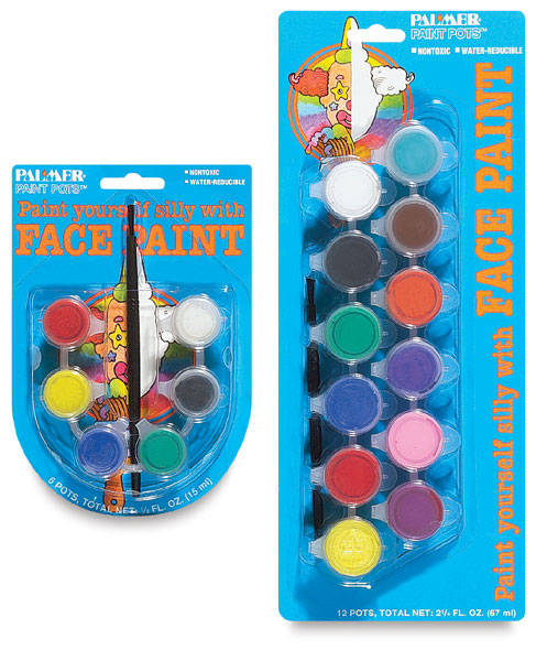 Palmer face paint pots blick art materials for Pot painting materials required