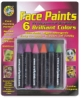 Brilliant Face Paint Crayons, Pkg of 6