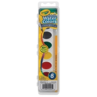 Crayola Washable Watercolor Pan Sets