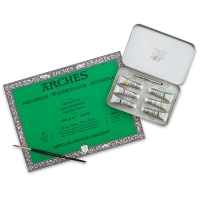 Professional Watercolor and Arches Gift Set