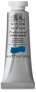 Professional Watercolor Tube, 14 ml, Antwerp Blue