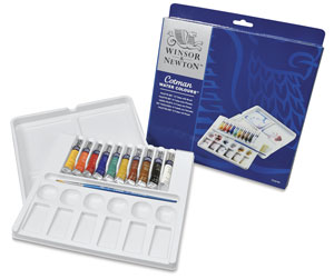 Cotman 10-Tube Set