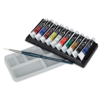 10-Tube Watercolor Set
