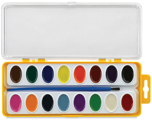 Sargent Art-Time Watercolor, 16 Pan Set